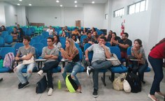 Público lotou auditório do CIC