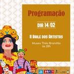 Bloco Filhinhos da Mamãe realiza Baile dos artistas nesta sexta