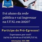 Paespe realiza atividades direcionadas a novos alunos da Ufal