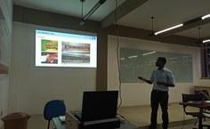 Marcos Oliveira defendeu a tese pelo Instituto de Química e Biotecnologia. Foto Arquivo pessoal
