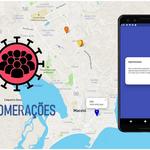 Aplicativo da Ufal indica pontos de aglomeração de pessoas