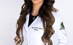 Recém-formada, a médica Vanessa Gomes destaca a estrutura e o corpo docente da Famed..jpeg