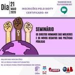 Ufal, OAB e ONG promovem evento sobre direitos humanos da mulher
