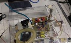 Imagem do teste de corte do ventilador