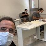 Projeto do LCCV garante produção de mais 7,9 mil protetores faciais