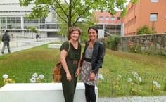 Professoras Giovana e Ada