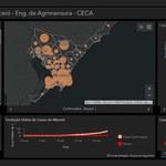 Engenharia de Agrimensura realiza projeto de mapas interativos contra a covid-19