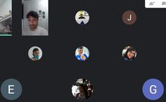 Equipe em reunião no Google Meets