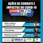 Live sobre combate ao coronavírus une professores da Ufal e do Ifal