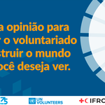 ONU e Cruz Vermelha lançam pesquisa sobre voluntariado