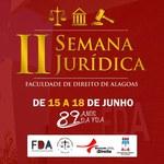 Semana Jurídica celebra os 89 anos da Faculdade de Direito da Ufal