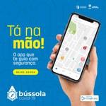 App Bússola Covid-19 gera mapa de riscos e locais seguros para frequentar