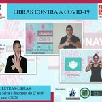 Projeto de extensão traduz para Libras cuidados e prevenção ao coronavírus