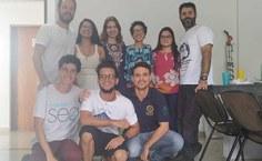 Equipe do grupo Leceb, coordenado pela professora Patrícia Medeiros, realiza estudos com Pancs