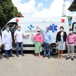 HU recebe ambulância nova com emenda do deputado Marx Beltrão