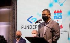 Clayton Santos, pró-reitor de Extensão e um dos responsáveis pela chegada da TV Ufal