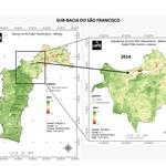 São Francisco perdeumais de 30 mil hectares desuperfície com água