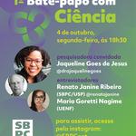 """SBPC lança nesta segunda-feira o programa """"Bate-papo com Ciência"""""""