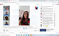 Ex-aluna grava mensagem de agradecimento aos professores do Campus Arapiraca