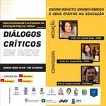 Rede Redap e Proex promovem evento Diálogos críticos até abril