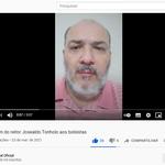Reitor faz vídeo e fala diretamente aos estudantes bolsistas da Ufal