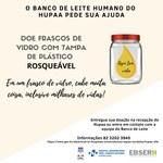 Banco de Leite do HU faz campanha por doações