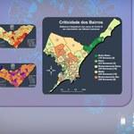 Mapas mostram criticidade baixa da covid-19 em quatro bairros de Maceió