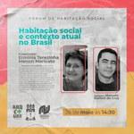 Fórum de Habitação Social discute moradia no contexto da pandemia