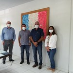 Reitor discute parceria com Prefeitura de Viçosa e Cooperativa Pindorama