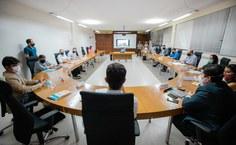 Reunião com o s integrantes do Conselho