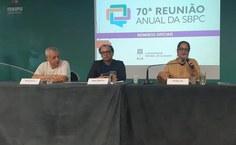 Lenilda Luna apresenta resultado da cobertura da Rádio Ufal na SBPC no 3° Encontro do Colégio de Gestores de Comunicação (Cogecom),