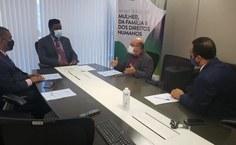 Reunião com o secretário nacional Paulo Roberto