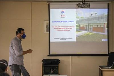 Ufal recebe projeto executivo de Laboratório de Biossegurança NB3