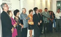 1999. O então reitor Rogério Pinheiro quando da reabertura da Pinacoteca [Fotos Arquivo Pina]