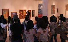 2018. Exposição Acervo Pinacoteca. Primavera dos Museus na mostra de longa duração do acervo da Pinacoteca