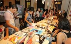 2019. [Pinacoteca na Bienal do Livro. Pina Ilustra - exposição de ilustradores e quadrinistas alagoanos que a Pinacoteca levou à 9ª Bienal do Livro [Foto Itawi Albuquerque]