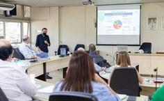 Reitor Carlos Guedes apresentou estrutura e projetos do Ifal